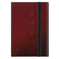Vintage Damask Wallpaper Monogram Case For iPad Mini