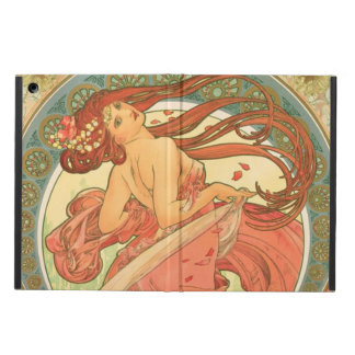 Vintage Dance by Alphonse Mucha iPad Air Cases