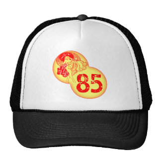 Vintage Dancer 85th Birthday Gifts Trucker Hat