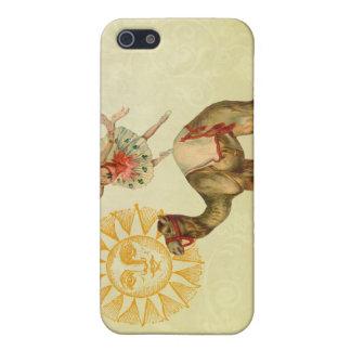 Vintage Dancer on a Camel iPhone SE/5/5s Case
