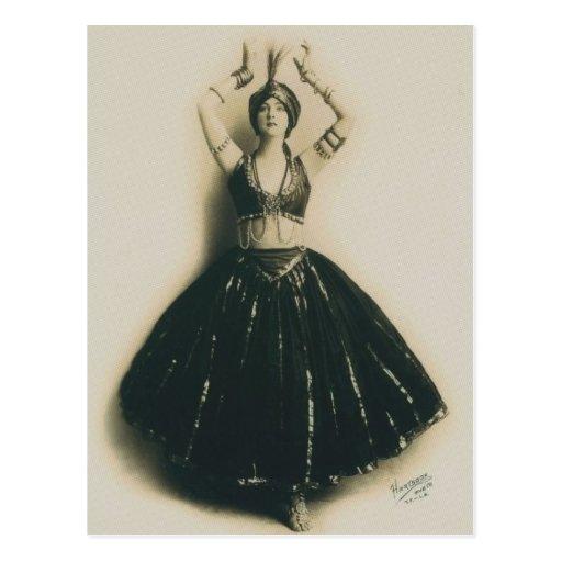 Vintage Dancer Post Cards