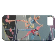 Vintage Dancers PBN iPhone 5/5s Case