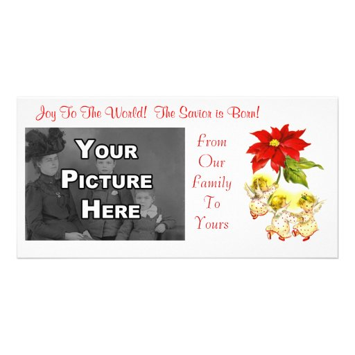 Vintage Dancing Baby Angels Photocard Photo Card Template