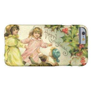 Vintage Dancing Children Christmas Phone Case