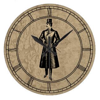 Vintage Dandy Gent Large Clock