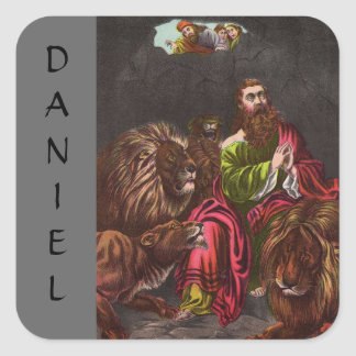 Vintage Daniel in the Lions Den Sticker