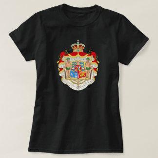 Vintage Danish Royal Coat of Arms of Denmark T-shirt