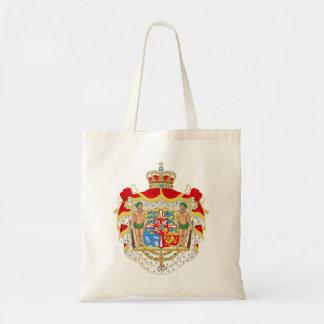 Vintage Danish Royal Coat of Arms of Denmark Tote Bag