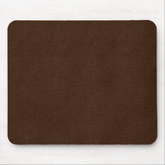 Vintage Dark Espresso Brown Parchment Template Mouse Pad