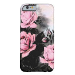 Vintage Dark Roses Barely There iPhone 6 Case