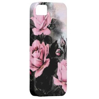 Vintage Dark Roses iPhone 5 Covers