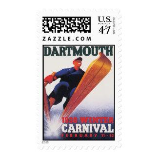 Vintage Dartmouth Winter Carnival Postage