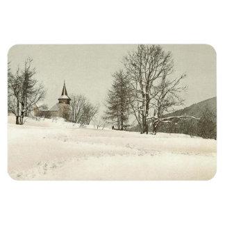 Vintage Davos Suiza - Imán Flexible