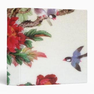 Vintage Dawn Of Spring Japanese Artwork Binder