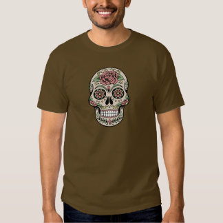 Vintage Day of the Dead Sugar Skull T-shirt