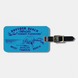 Vintage Daytona Beach Bag Tag
