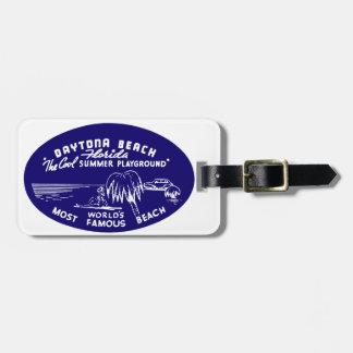 Vintage Daytona Beach Luggage Tags