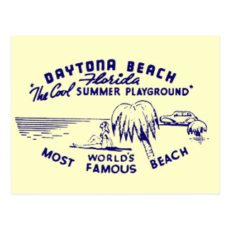 Vintage Daytona Beach Postal
