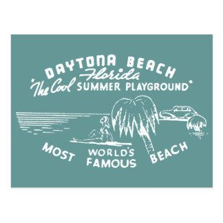 Vintage Daytona Beach Tarjeta Postal