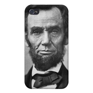 Vintage de Abraham Lincoln iPhone 4/4S Carcasas