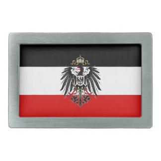 Vintage de Alemania Eagle Hebillas De Cinturón Rectangulares