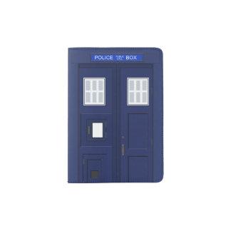 Vintage de Británicos de la caja de llamada de Porta Pasaportes