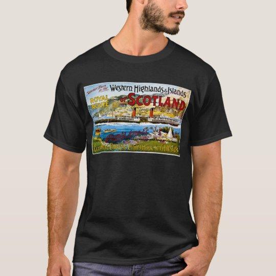 Vintage de Escocia Glasgow de los vapores de Royal Playera