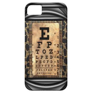Vintage de estrabismo IV iPhone 5 Carcasas