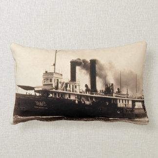 Vintage de Great Lakes SS Nueva York Louis Pesha Almohadas