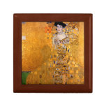 "Vintage de Gustavo Klimt ""Adela"" Cajas De Joyas"