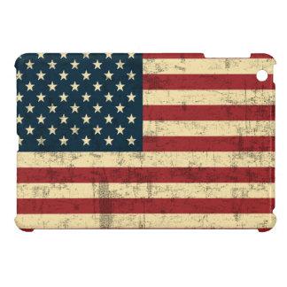 Vintage de la bandera americana apenado