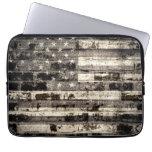 Vintage de la bandera americana funda portátil