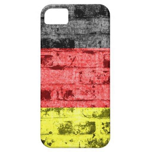 Vintage de la bandera de Alemania iPhone 5 Funda