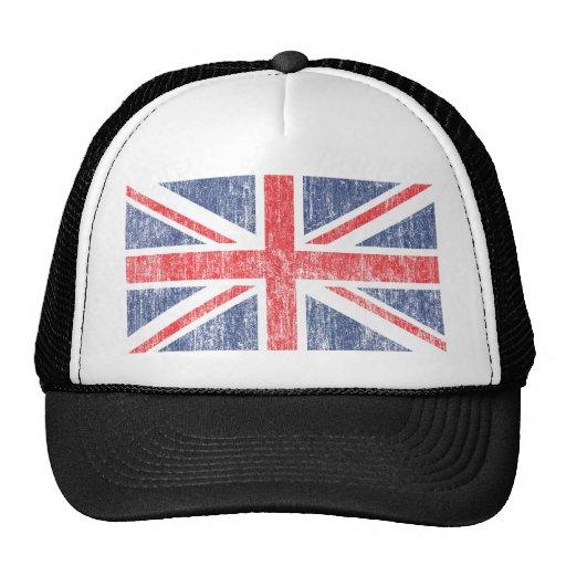 Vintage de la bandera de unión gorras de camionero