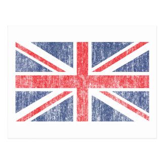 Vintage de la bandera de unión postal