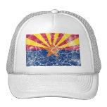 Vintage de la bandera del estado de Arizona Gorro
