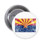 Vintage de la bandera del estado de Arizona Pins