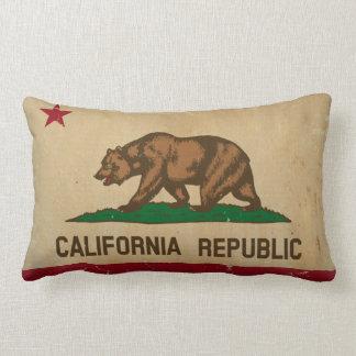 VINTAGE de la bandera del estado de California Cojines