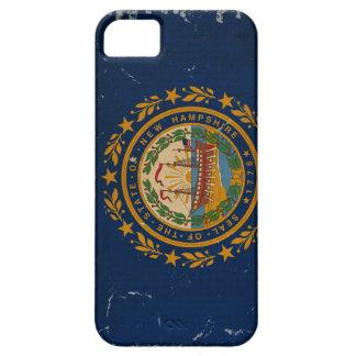 VINTAGE de la bandera del estado de New Hampshire iPhone 5 Carcasa
