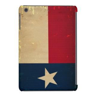VINTAGE de la bandera del estado de Tejas Funda De iPad Mini