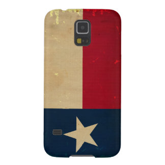 VINTAGE de la bandera del estado de Tejas Carcasa Para Galaxy S5