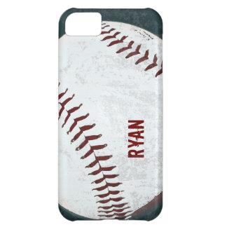 vintage de la bola del béisbol diseñado carcasa iPhone 5C