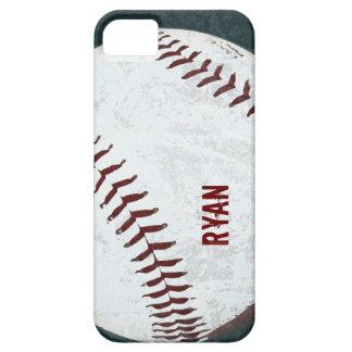 vintage de la bola del béisbol diseñado funda para iPhone SE/5/5s
