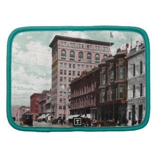 Vintage de la calle de Broadway Planificador