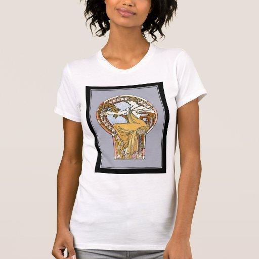 Vintage de la camisa del mucha de Alfonso