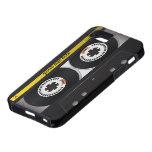 Vintage de la cinta de casete iPhone 5 Case-Mate coberturas