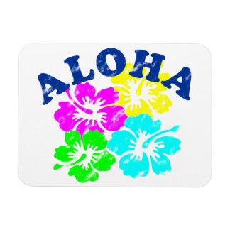 Vintage de la hawaiana iman flexible