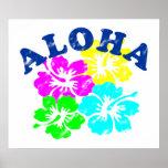 Vintage de la hawaiana impresiones