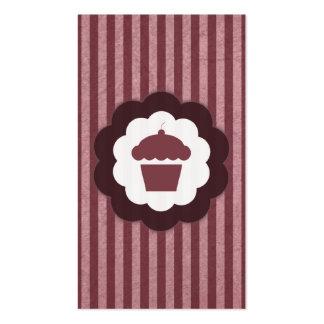 vintage de la magdalena tarjeta de negocio