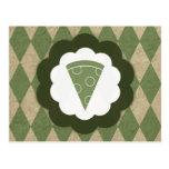 vintage de la pizza postal